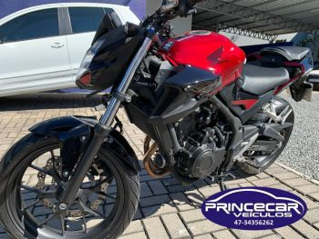 Foto numero 0 do veiculo Honda CB 500 F - Vermelha - 2020/2020